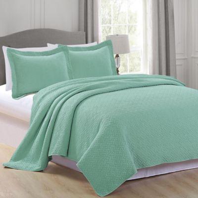 Buy Aqua Quilt Set from Bed Bath & Beyond : aqua quilt set - Adamdwight.com