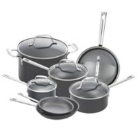 Emeril™ Hard Anodized 12-Piece Cookware Set in Charcoal