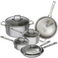 Emeril™ 10-Piece Tri-Ply Stainless Steel Cookware Set