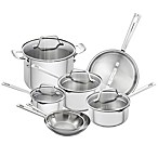 Emeril™ 12-Piece Stainless Steel Cookware Set
