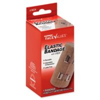 Harmon® Face Values® 4-Inch Elastic Bandage with Clips