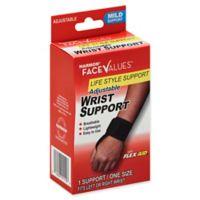 Harmon® Face Values® Neoprene One Size Mild Adjustable Wrist Support