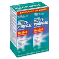 Harmon® Face Values® 12 fl. oz. Multi-Purpose Solution for Soft Contact Lenses Twin Pack