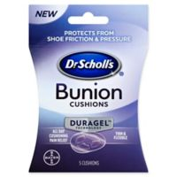 Dr. Scholl's® 5-Count Bunion Cushions with Duragel Technology™