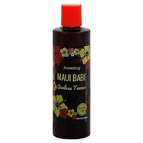 Maui Babe 8 Fl Oz Medium Dark Sunless Tanner Bed Bath