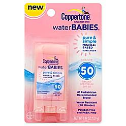 product image for Coppertone® Water BABIES® Pure & Simple .49 oz. Sunscreen Stick with SPF 50