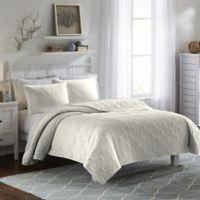 Vue Atlantis King Bedspread Set in Ivory
