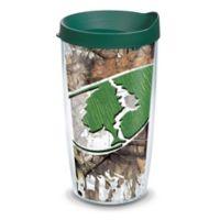 Tervis® Mossy Oak® Camo Splatter Logo Wrap 16 oz. Tumbler with Lid