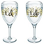 "Tervis® ""I Do"" 9 oz. Wine Glasses (Set of 2)"