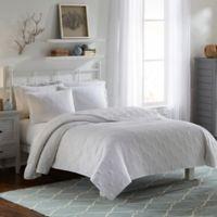 Vue Atlantis King Bedspread Set in White