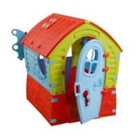 PalPlay Dream Indoor/Outdoor Playhouse in Green/Multi