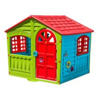 PalPlay House of Fun Indoor/Outdoor Playhouse in Multi