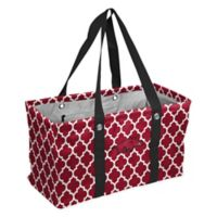 University of Arkansas Quatrefoil Picnic Caddy Tote in Cardinal