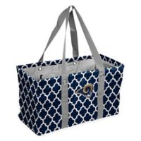 NFL Los Angeles Rams Quatrefoil Picnic Caddy in Navy