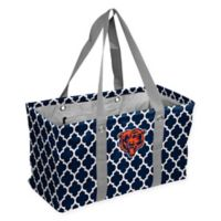NFL Chicago Bears Quatrefoil Picnic Caddy in Navy