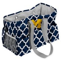 University of Michigan Quatrefoil Jr. Caddy in Navy