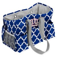 NFL New York Giants Quatrefoil Jr. Caddy in Royal