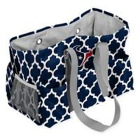 NFL Houston Texans Quatrefoil Jr. Caddy in Navy