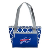 NFL Buffalo Bills Quatrefoil Cooler Tote in Royal