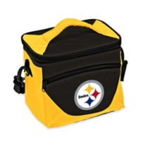 NFL Pittsburgh Steelers Halftime Lunch Cooler in Black/Gold