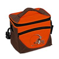 NFL Cleveland Browns Halftime Lunch Cooler in Orange/Brown