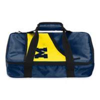 University of Michigan Wolverines Casserole Caddy in Navy