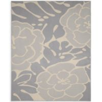 Garland Valencia 8-Foot x 10-Foot Area Rug in Silver/Ivory