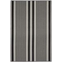Garland Cape Cod 6-Foot x 8-Foot Area Rug in Black