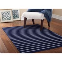 Garland Avery 5-Foot x 7-Foot 5-Inch Area Rug in Navy