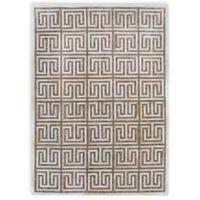 Exquisite Rugs Berlin Maze 5-Foot x 8-Foot Area Rug in Beige/Ivory