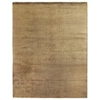 Exquisite Rugs Dove Embossed 8-Foot x 10-Foot Area Rug in Light Beige