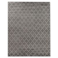 Exquisite Rugs Luxe Look 6-Foot x 9-Foot Area Rug in Grey