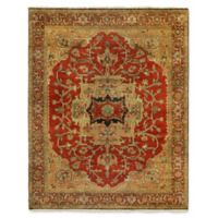 Exquisite Rugs Antique Weave 6-Foot x 9-Foot Area Rug in Red