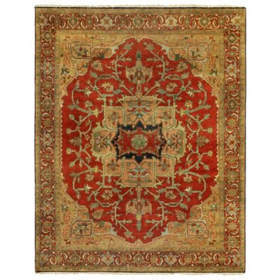 Exquisite Rugs Antique Weave 8 Foot X 10 Area Rug In Red