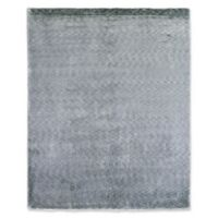 Exquisite Rugs Plain 6-Foot x 9-Foot Area Rug in Blue