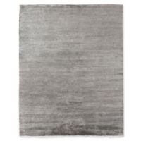 Exquisite Rugs Dove Crush 6-Foot x 9-Foot Area Rug in Silver