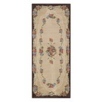 Brumlow Mills Heartwood 1-Foot 10-Inch x 5-Foot Accent Rug in Chocolate