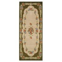 Brumlow Mills Heartwood 1-Foot 10-Inch x 5-Foot Accent Rug in Green