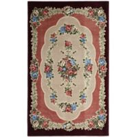 Brumlow Mills Heartwood 3-Foot 3-Inch x 5-Foot 4-Inch Accent Rug in Burgundy