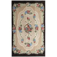 Brumlow Mills Heartwood 3-Foot 3-Inch x 5-Foot 4-Inch Accent Rug in Chocolate