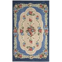 Brumlow Mills Heartwood 3-Foot 3-Inch x 5-Foot 4-Inch Accent Rug in Nantucket Blue