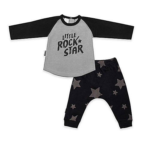 Blue banana 2 piece little rock star pant and shirt set for Rock star photos for sale