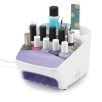 Polder Deluxe Nail Station with Fan Tunnel
