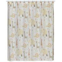 Animal Crackers Shower Curtain
