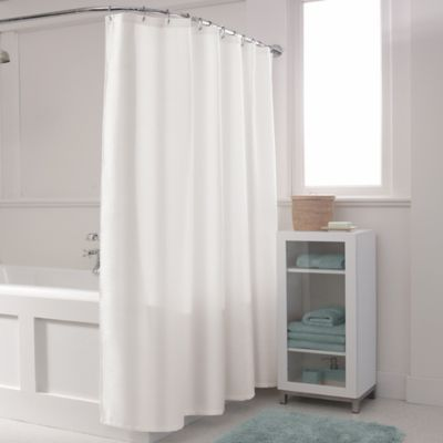 Buy White Waffle Shower Curtain from Bed Bath & Beyond