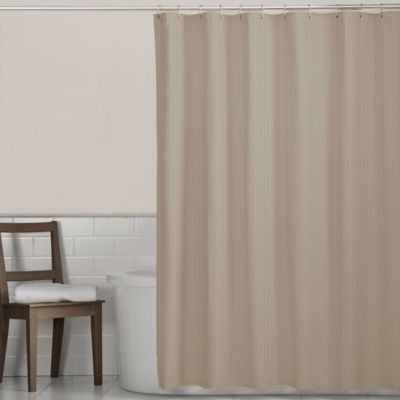 Maytex Norwich Shower Curtain in Tan