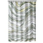 Shell Rummel Sand Stone Shower Curtain
