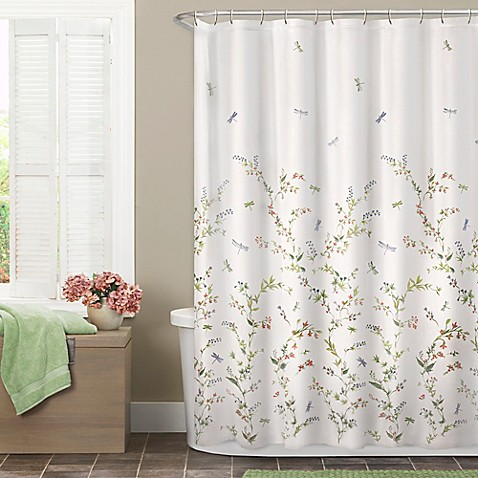 Dragonfly Garden Shower Curtain Bed Bath Amp Beyond