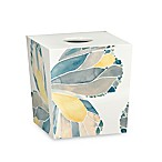 Shell Rummel Butterfly Boutique Tissue Box Cover in Yellow