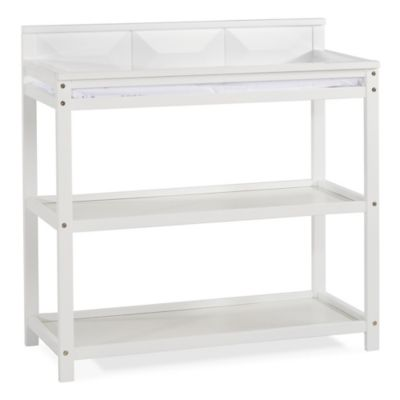Changing Tables U003e Child Craft™ Elin Changing Table In Matte White